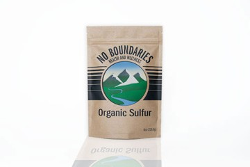 Pure Organic Sulfur Crystals